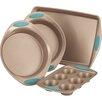 Rachael Ray Cucina Nonstick 4 Piece Bakeware Set