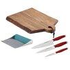 Rachael Ray Cutlery and Cutting Board Set