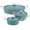 Rachael Ray Cucina 6-Piece Nonstick Cookware Set