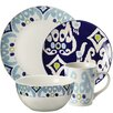 Rachael Ray Ikat 16 Piece Dinnerware Set