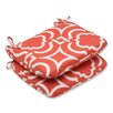Pillow Perfect Carmody Outdoor Dining Chair Cushion (Set of 2)
