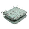 Pillow Perfect Centro Outdoor Dining Chair Cushion (Set of 2)
