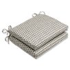 Pillow Perfect Seeing Spots Outdoor Seat Cushion (Set of 2)