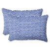 Pillow Perfect Seeing Spots Indoor/Outdoor Throw Pillow (Set of 2)