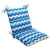Pillow Perfect Panama Wave Outdoor Chair Cushion