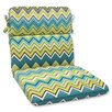 Pillow Perfect Zig Zag Outdoor Lounge Chair Cushion