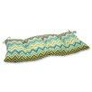 Pillow Perfect Zig Zag Outdoor Loveseat Cushion