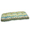 Pillow Perfect Zig Zag Outdoor Loveseat Cushion