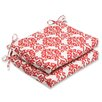 Pillow Perfect Luminary Outdoor Seat Cushion (Set of 2)