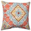 Pillow Perfect Sundance Tangerine Cotton Throw Pillow