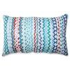 Pillow Perfect Croc Rhythm Cotton Lumbar Pillow