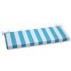 Pillow Perfect Cabana Stripe Outdoor Bench Cushion