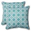 Pillow Perfect Kane Indoor/Outdoor Throw Pillow (Set of 2)