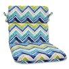 Pillow Perfect Marquesa Marine Outdoor Chaise Lounge Cushion