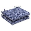 Pillow Perfect Ring a Bell Outdoor Dining Chair Cushion (Set of 2)