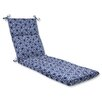 Pillow Perfect Ring a Bell Outdoor Chaise Lounge Cushion