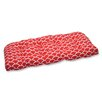 Pillow Perfect Sunny Outdoor Loveseat Cushion