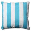 Pillow Perfect Cabana Stripe Indoor/Outdoor Floor Pillow