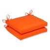 Pillow Perfect Sundeck Outdoor Seat Cushion (Set of 2)