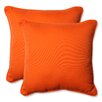 Pillow Perfect Sundeck Corded Indoor/Outdoor Throw Pillow (Set of 2)