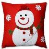 Pillow Perfect Snowman Throw Pillow