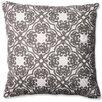 Pillow Perfect Damask Cotton Throw Pillow