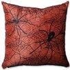 Pillow Perfect Spider Throw Pillow