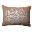 Pillow Perfect Geometric Jute Throw Pillow