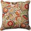 Pillow Perfect Zoe Citrus Floor Outdoor/Indoor Throw Pillow