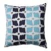 Pillow Perfect Neo Motif Aqua Throw Pillow