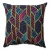 Pillow Perfect Graphic Geometric 100% Cotton Throw Pillow