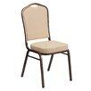 Flash Furniture Hercules Series Crown Back Banquet Chair with Cushion