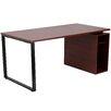 Flash Furniture Computer Desk with Open Storage Pedestal