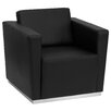 Flash Furniture Hercules Trinity Series Leather Lounge Chair