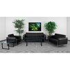 Flash Furniture Hercules Lesley Series Reception Set