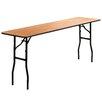 "Flash Furniture 72"" Rectangular Folding Table"
