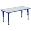 "Flash Furniture 47.25"" x 23.63"" Rectangular Activity Table (Set of 2)"