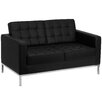 Flash Furniture Hercules Lacey Series Leather Loveseats