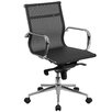 Flash Furniture Mid-Back Mesh Office Chair with Arms