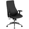 Flash Furniture High Back Leather Executive Swivel Chair