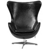 Flash Furniture Leather Tilt-Lock Mechanism Lounge Chair