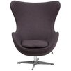 Flash Furniture Wool Fabric Egg Chair