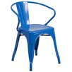 Flash Furniture Stacking Dining Arm Chair