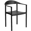 Flash Furniture Hercules Series Cafe Stack Arm Chair