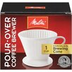 Melitta Porcelain 2 Cone Brewer Coffee Maker