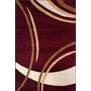 World Rug Gallery Alpine Burgundy Area Rug