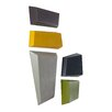 Phillips Collection 5 Piece Abstract Brazos Wall Décor Set