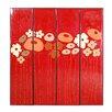 Phillips Collection 4 Piece Flower Panels Wall Décor Set