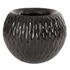 Citlali Ripple Resin Pot Planter - Corrigan Studio Planters