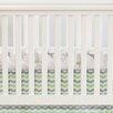 Oliver B Chevron Crib Skirt